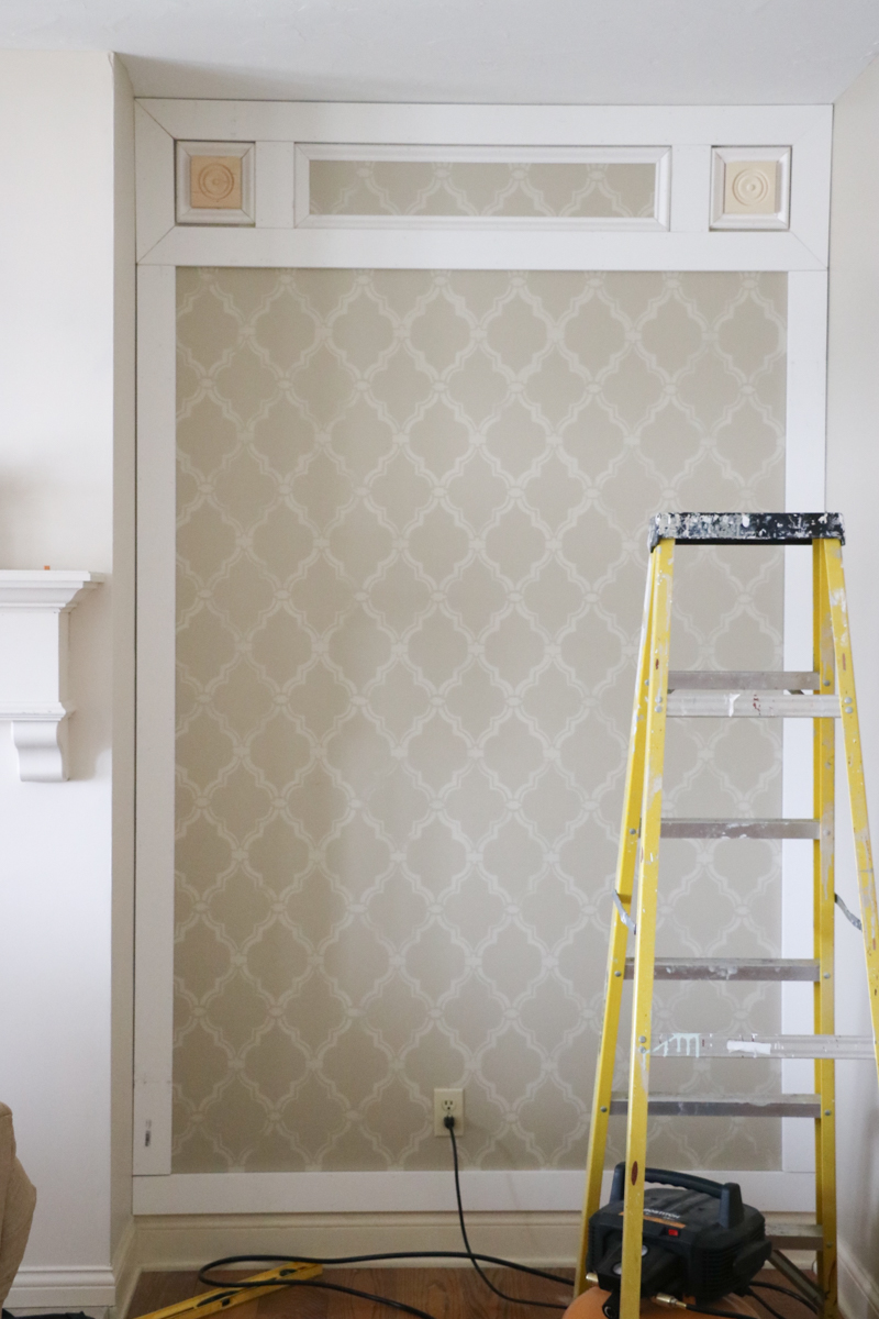 Elegant DIY Paneled Wall 5