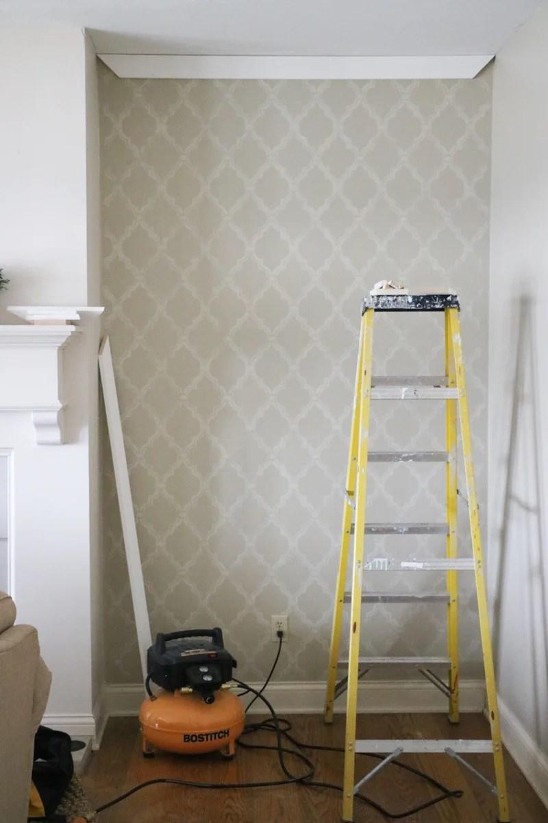 Elegant DIY Paneled Wall