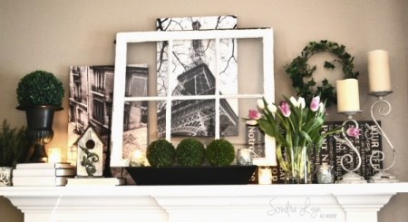 Paris Mantel Detail Sondra Lyn At Home1