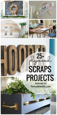 Use Up Your Plywood Scrap Pile With One Of These 25+ Plywood Scraps Projects Featured On Remodelaholic.com