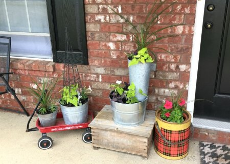 Front Porch Flower Pots And What To Plant At Shes Crafty Zpsc2w0imzg