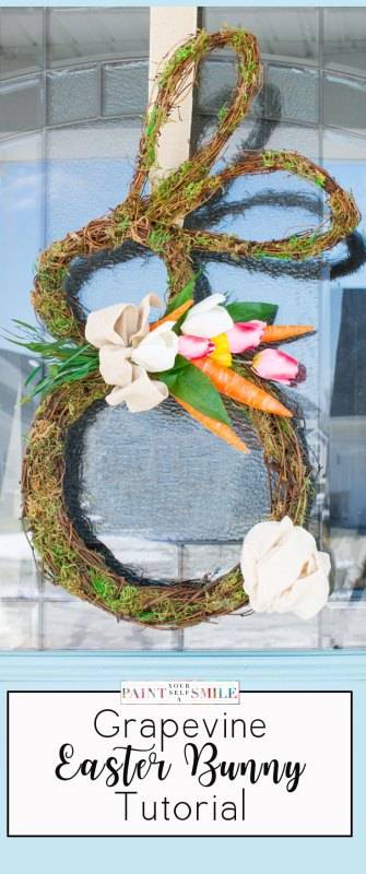 How To Make A Bunny Grapevine Wreath Pin