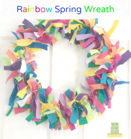 Rainbow Spring Wreath