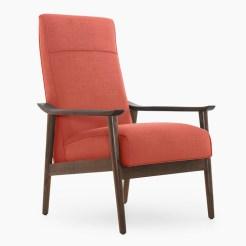 Shabby Chic Mid Century Chair