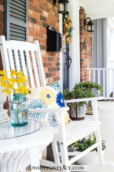 Spring Summer Porch Decor Refresh