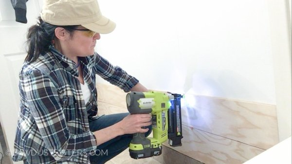 4 How To Diy A Planked Wall Out Of Plywood, By Sawdust Sisters Featured On @Remodelaholic