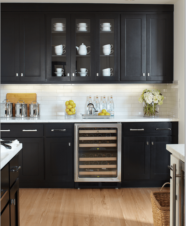 Black Painted Kitchen Cabinets: Most Popular Black Paint Colors