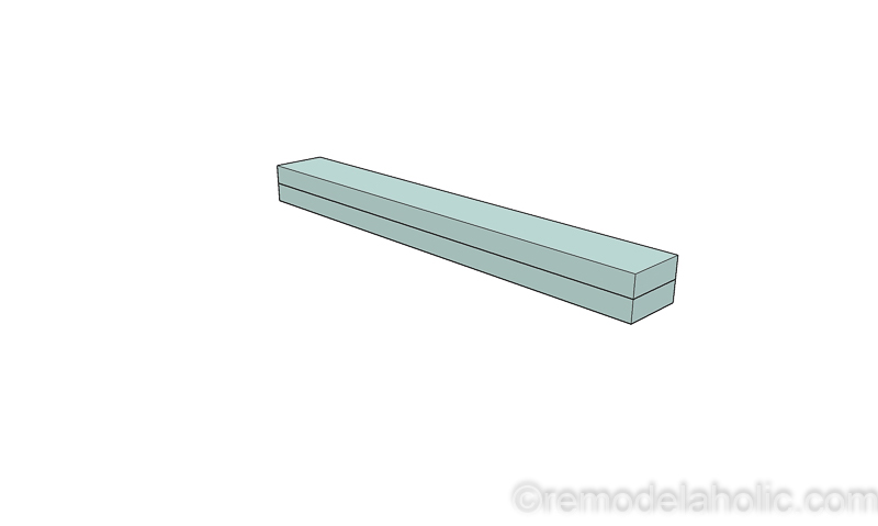 DIY Modern Plywood Bench Tutorial Half Lap Construction @remodelaholic 16