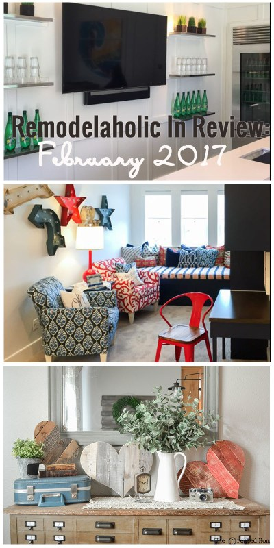 Remodelaholic February 2017 In Review 800x1600