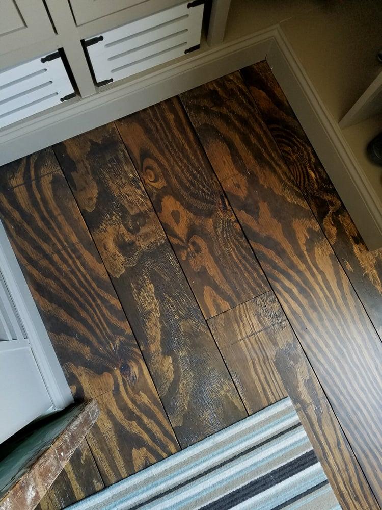 Remodelando La Casa Wide Plank Plywood Floors Closet