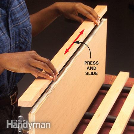 Attach Solid Wood Edging To Plywood, Family Handyman