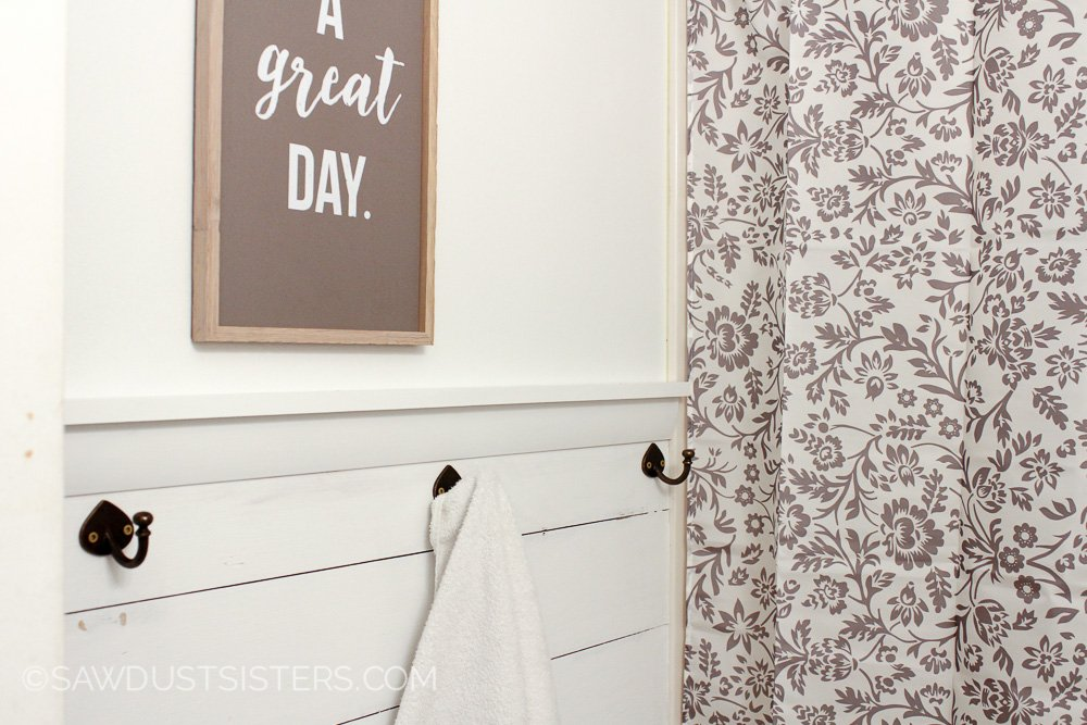 Remodelaholic How To Install An Inexpensive Shiplap Plank Wall Using Plywood
