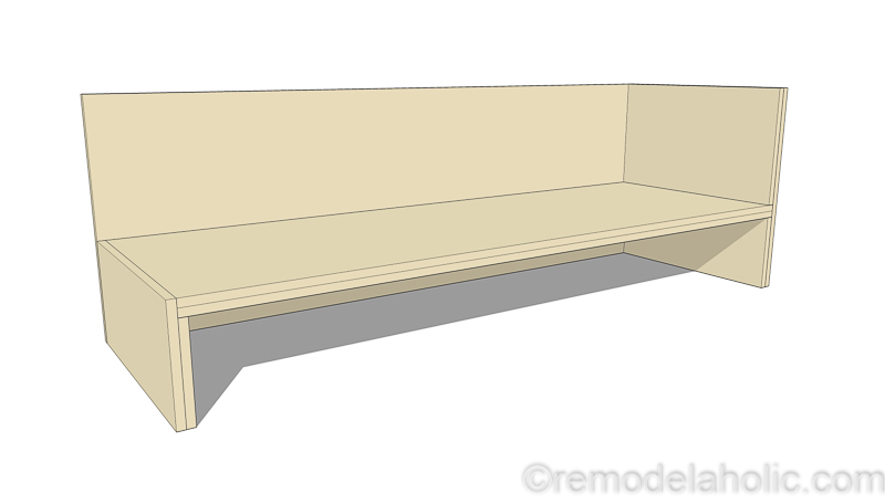 Plywood Sofa Sectional 3