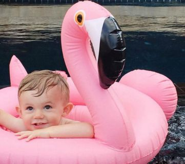50 Baby Toddler Pool Floats Remodelaholic Feature Image