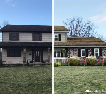 Real Life Rooms: Two Story Curb Appeal