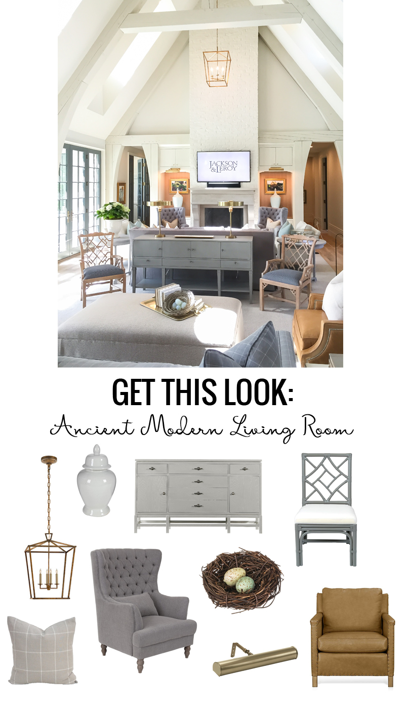 remodelaholic  get this look ancient modern living room