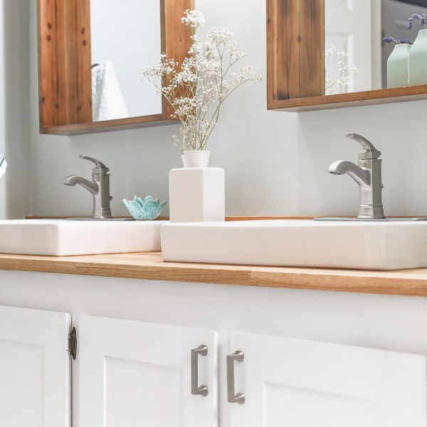 Modern Farmhouse Bathroom The Weathered Fox