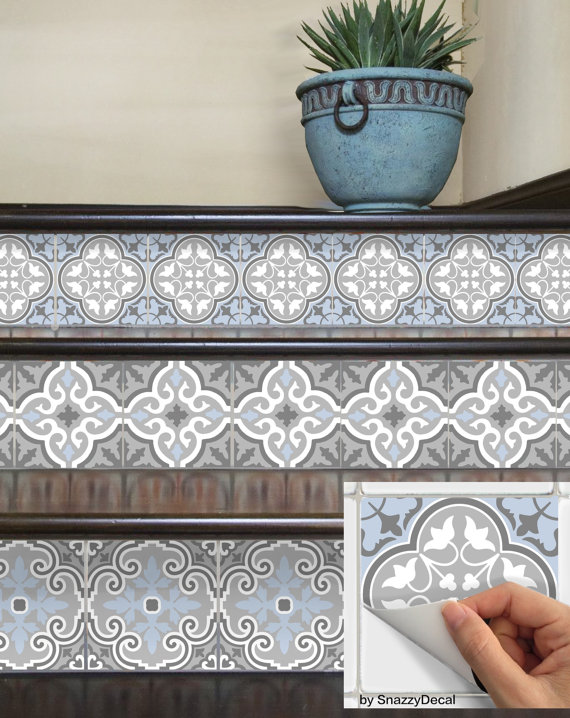 Vinyl Decals On Stair Risers