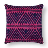 Bold Wallpaper Decor Tips, Pink Patterned Pillow