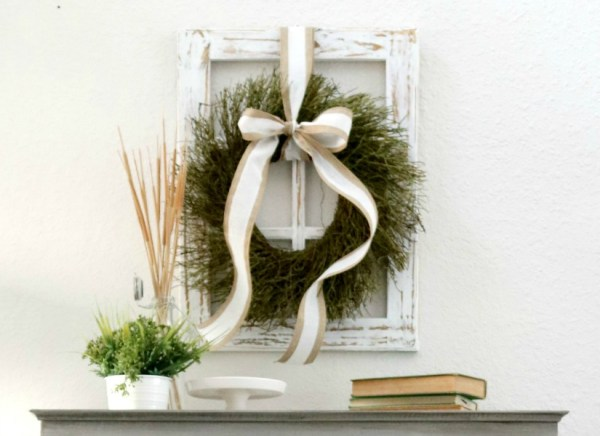 Feat Rustic Window Frame By Sawdust2Stitches For Remodelaholic.com 5