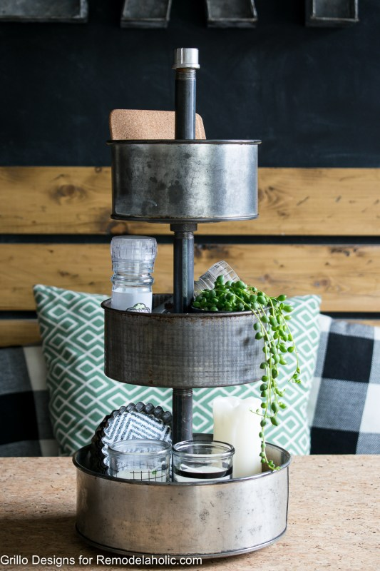 Industrial Tiered Stand From Baking Tins Grillo Designs 1 18
