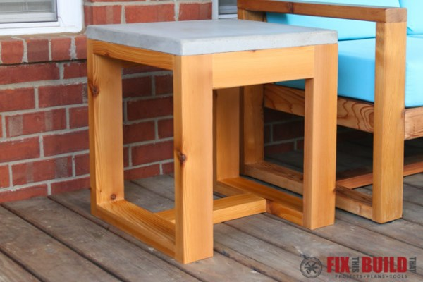2x4 Wood Projects Fix This Build That (outdoor Side Table)
