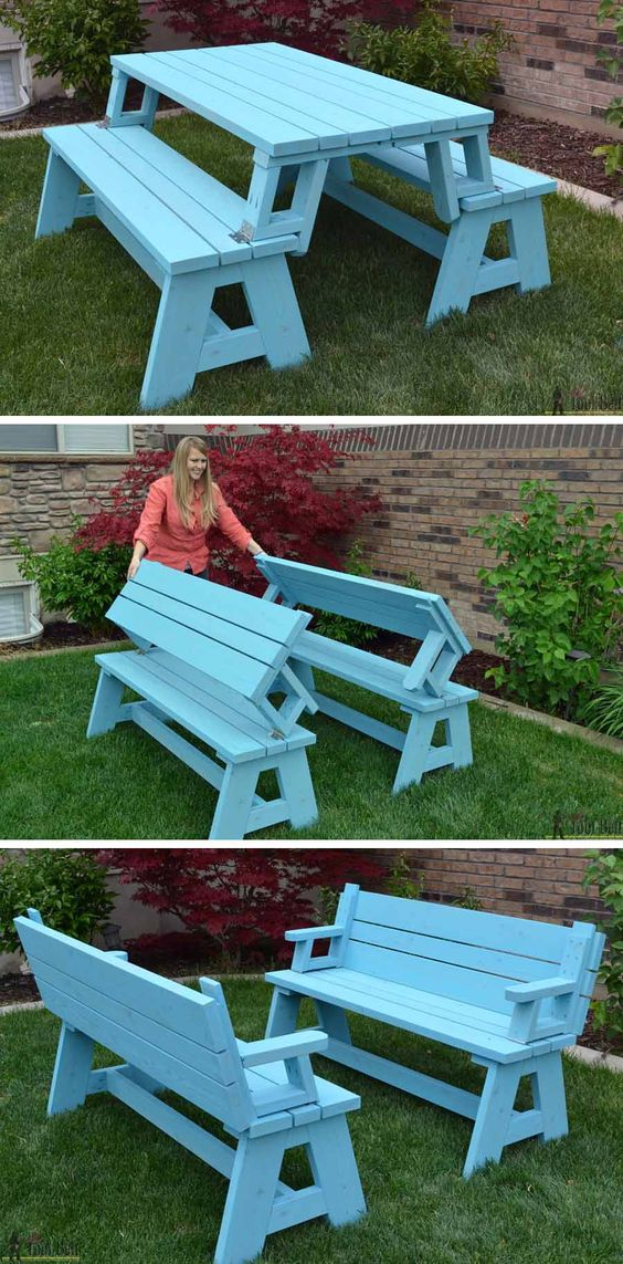 Outdoor 2x4 Projects Built With Structural Lumber   Planters, Furniture,  Games, And More