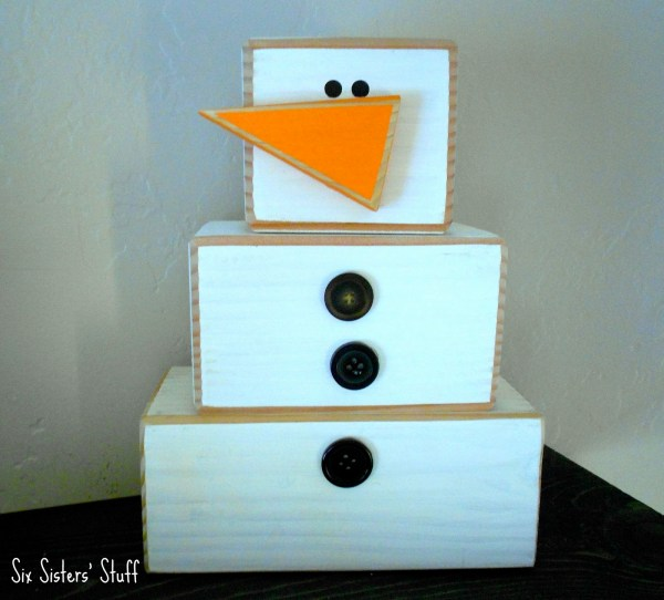 4x4 Wood Craft Projects Six Sisters