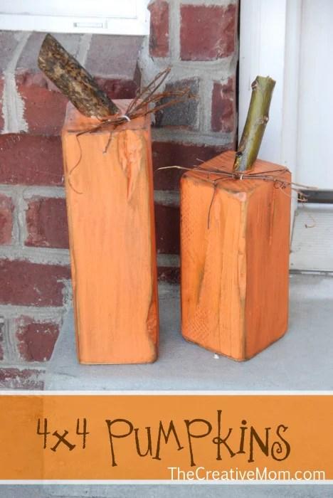 4x4 Wood Crafts The Creative Mom