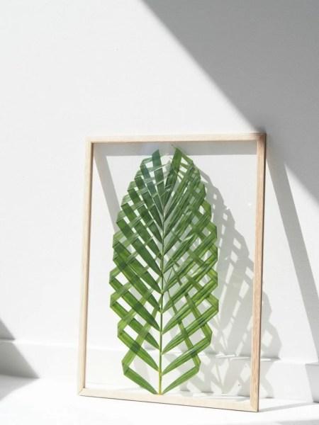 DIY Leaf Art @monsterscircus