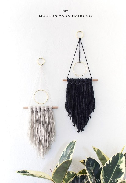 DIY Modern Wall Hanging1