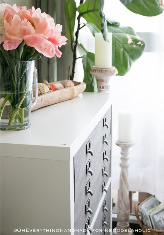 Kallax Flat File Cabinet IKEA hack