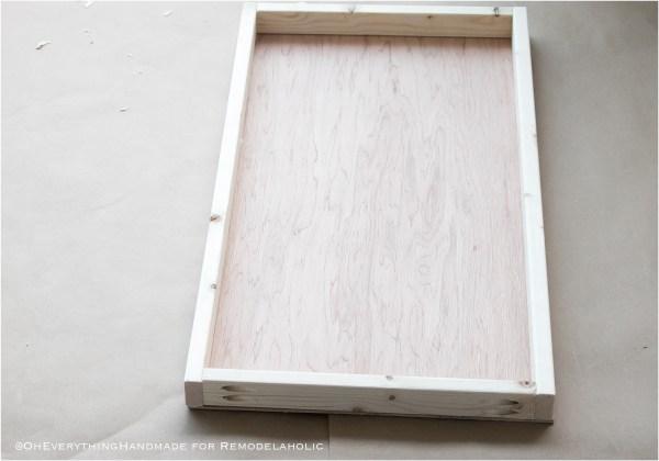 Kallax Flat File Cabinet Makeover Finished Drawer