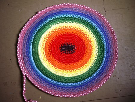 Braided Rag Rug Tutorial 027
