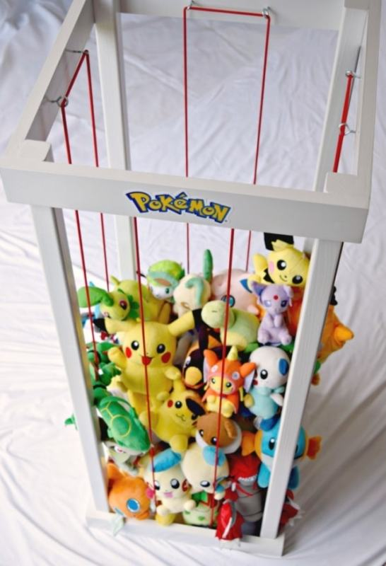 2x2 Projects, DIY Stuffed Animal Storage The Handyman's Daughter