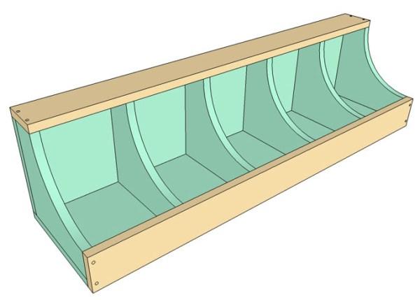 DIY Wall Shelf Building Plan Apieceofrainbow (6)