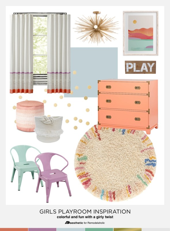 Girls Playroom Ideas and Inspiration