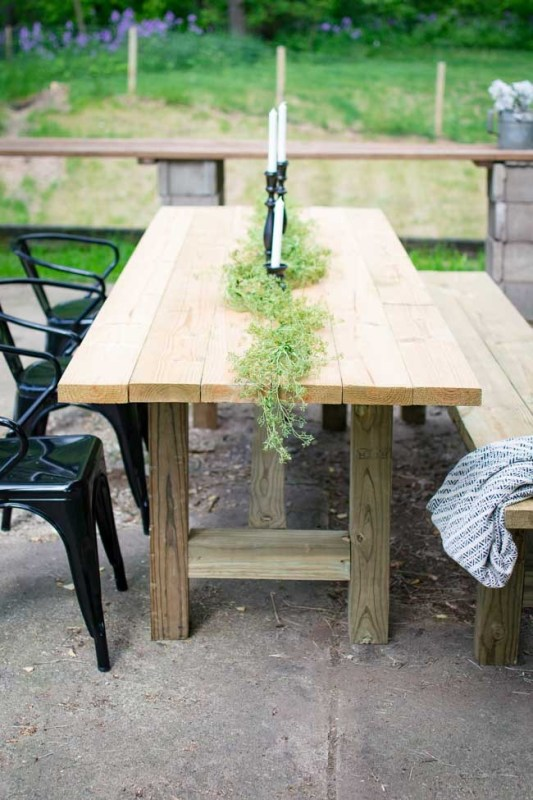 furniture goods table patio outdoor plans
