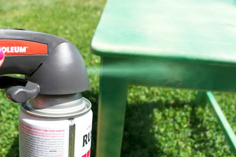 Spray Painting Furniture