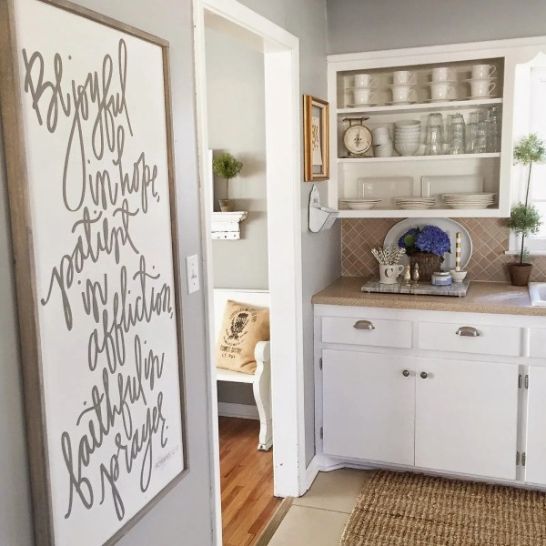 Wall Color Is Benjamin Moore Coventry Gray