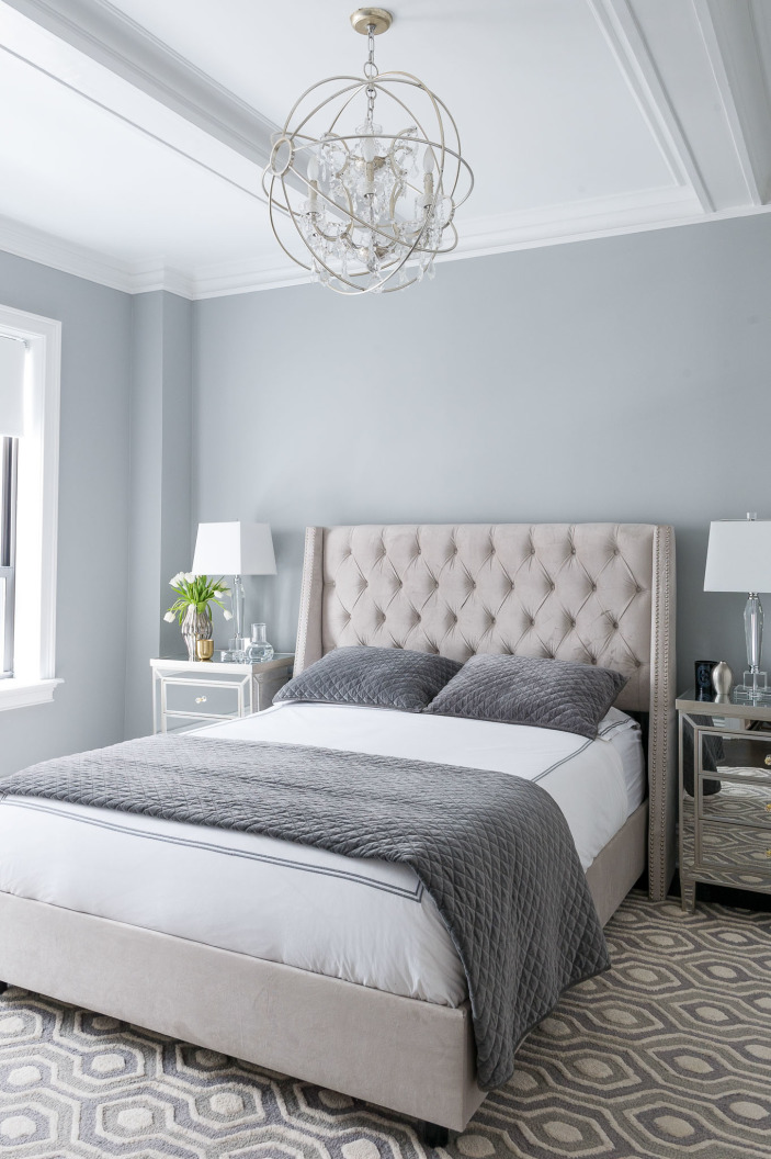 Wall Color Is Benjamin Moore Coventry Gray.