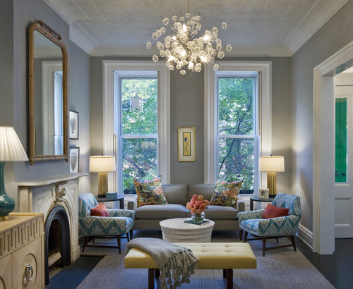 Wall Color Is Coventry Gray By Benjamin Moore. Color Spotlight.