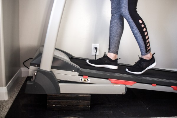 DIY High Incline Treadmill by Practical and Pretty