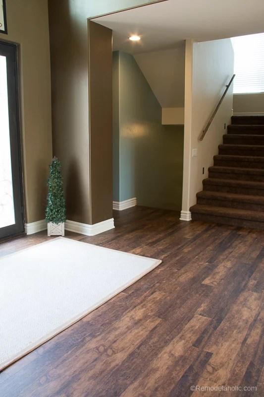 New Waterproof Flooring @Remodelaholic 57