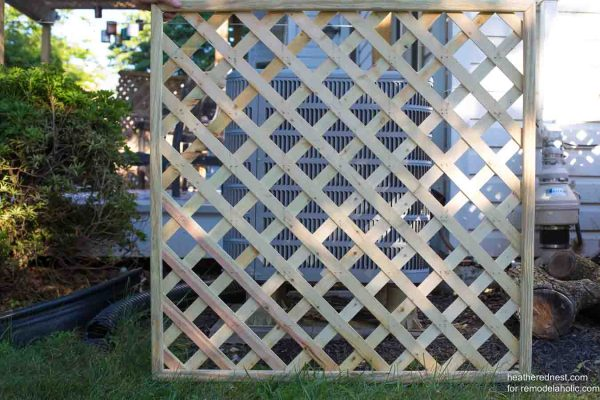 Outdoor Air Conditioner Screen Heatherednest.com For Remodelaholic 10