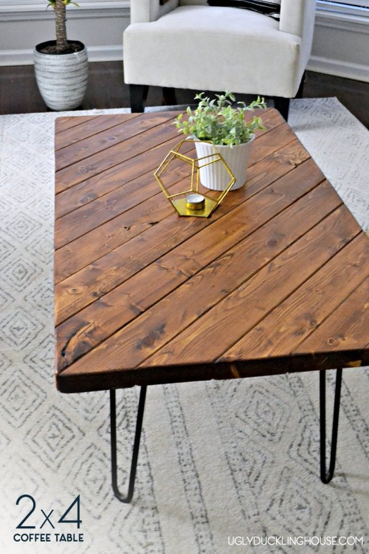 Sarah Diy 2x4 Coffee Table The Ugly Duckling House