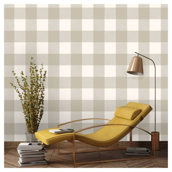 Buffalo Check Peel & Stick Wallpaper