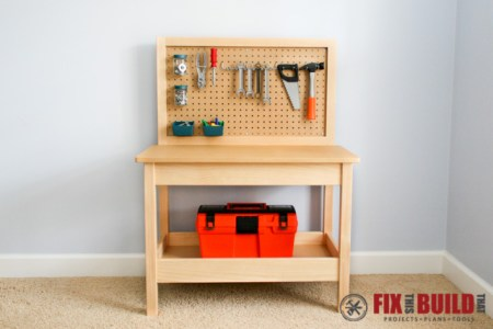 DIY Kids Workbench 6
