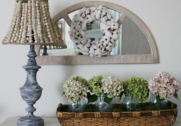 How To Make A Pottery Barn Inspired Wood Bead Lamp Our Crafty Mom