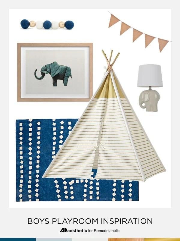 Design a Playful Blue Boys Playroom | Tips Tricks and Inspiration